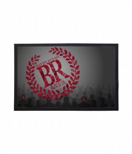 Battle Royale Movie Survival Program Doormat Welcome Mat